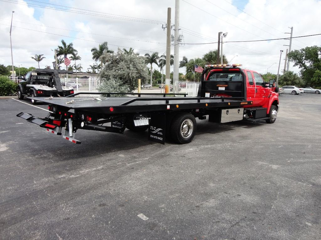 2018 Ford F650 SUPER CAB..22FT XLP-6 (LCG) JERRDAN ROLL-BACK.TOW TRUCK - 17685407 - 4