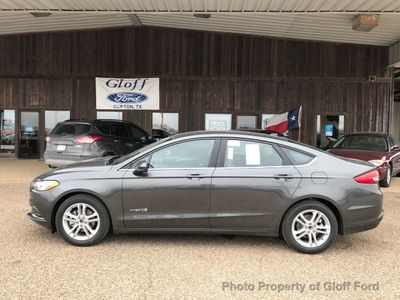 New 2018 Ford Fusion Hybrid SE FWD Sedan