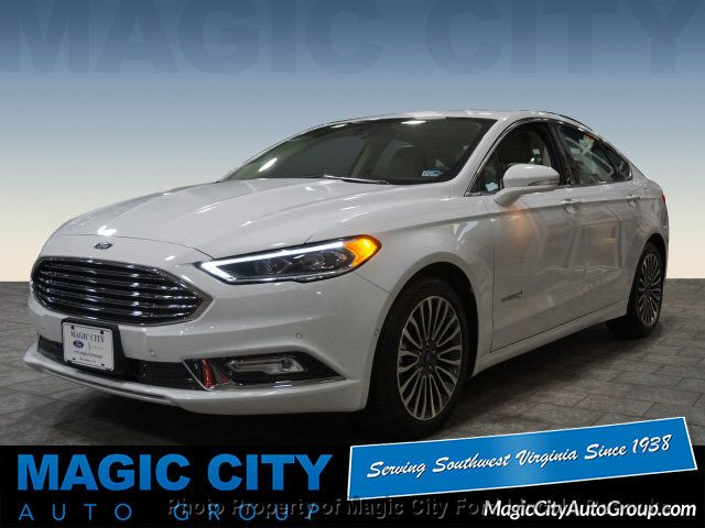 2018 Ford Fusion Hybrid Anium 17886087