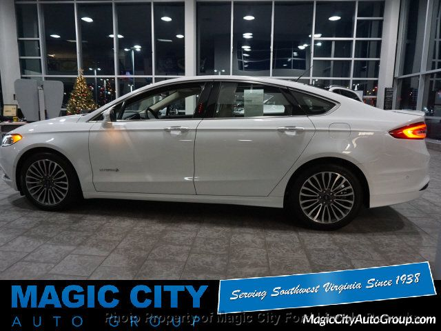 2018 New Ford Fusion Hybrid Titanium At Magic City Auto Group Serving Roanoke Lexington Covington Christiansburg Lynchburg And Surrounding