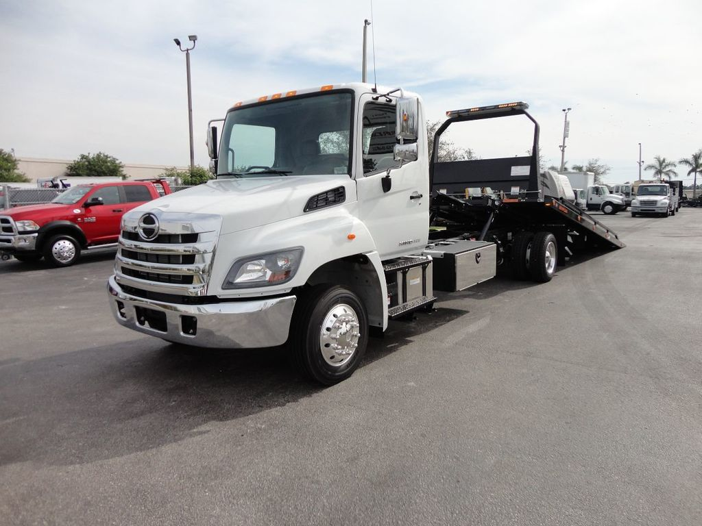 2018 HINO 258ALP 22FT XLP (LCG) JERRDAN ROLL-BACK..AIR BRAKE..AIR RIDE.. - 17250146