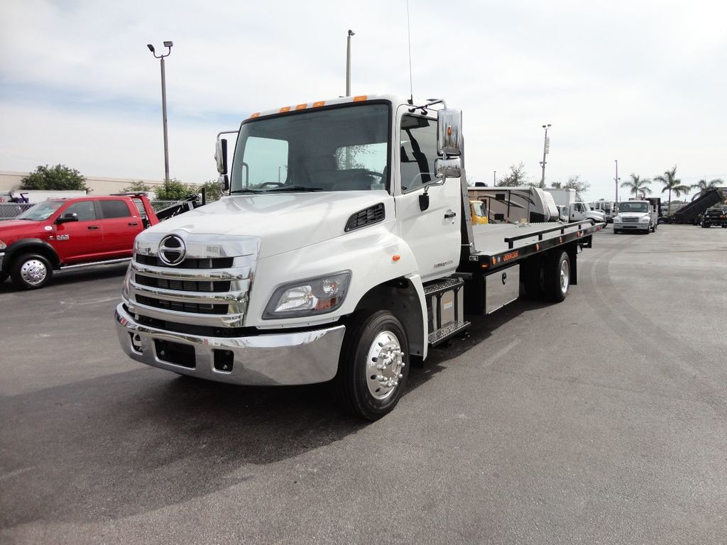 2018 HINO 258ALP 22FT XLP (LCG) JERRDAN ROLL-BACK..AIR BRAKE..AIR RIDE.. - 17250146 - 30