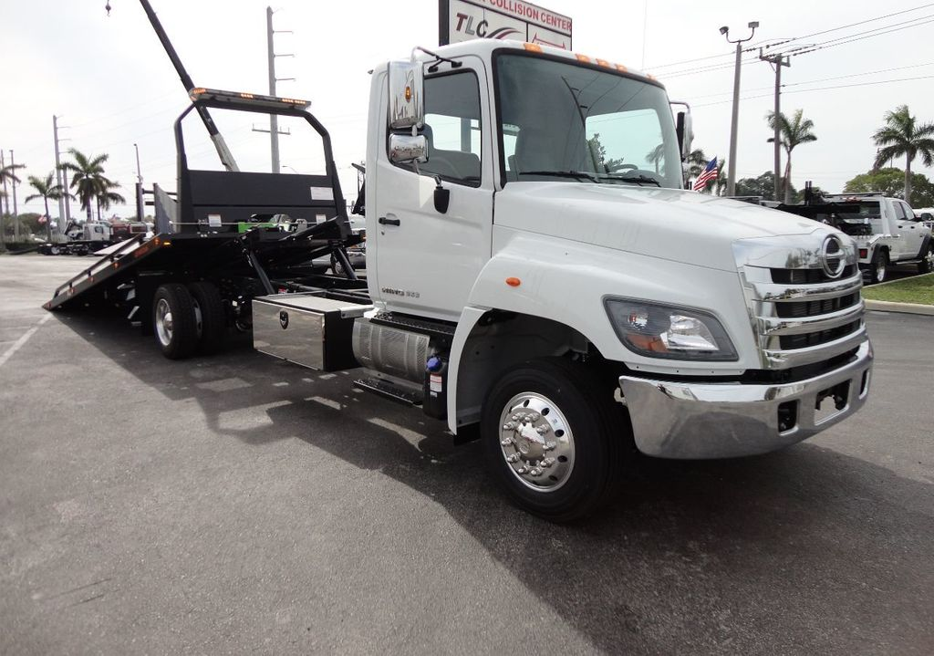 2018 HINO 258ALP 22FT XLP (LCG) JERRDAN ROLL-BACK..AIR BRAKE..AIR RIDE.. - 17250146 - 3