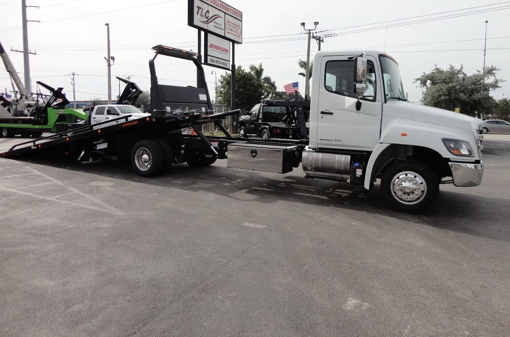 2018 HINO 258ALP 22FT XLP (LCG) JERRDAN ROLL-BACK..AIR BRAKE..AIR RIDE.. - 17250146 - 4