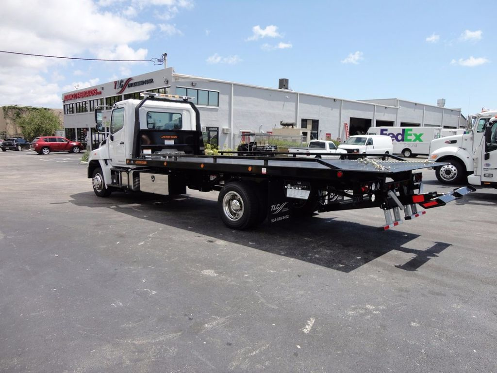 2018 HINO 258LP 21FT X 96 WIDE JERRDAN ROLLBACK..HYD BRAKE.SPRING RIDE - 16370364 - 11