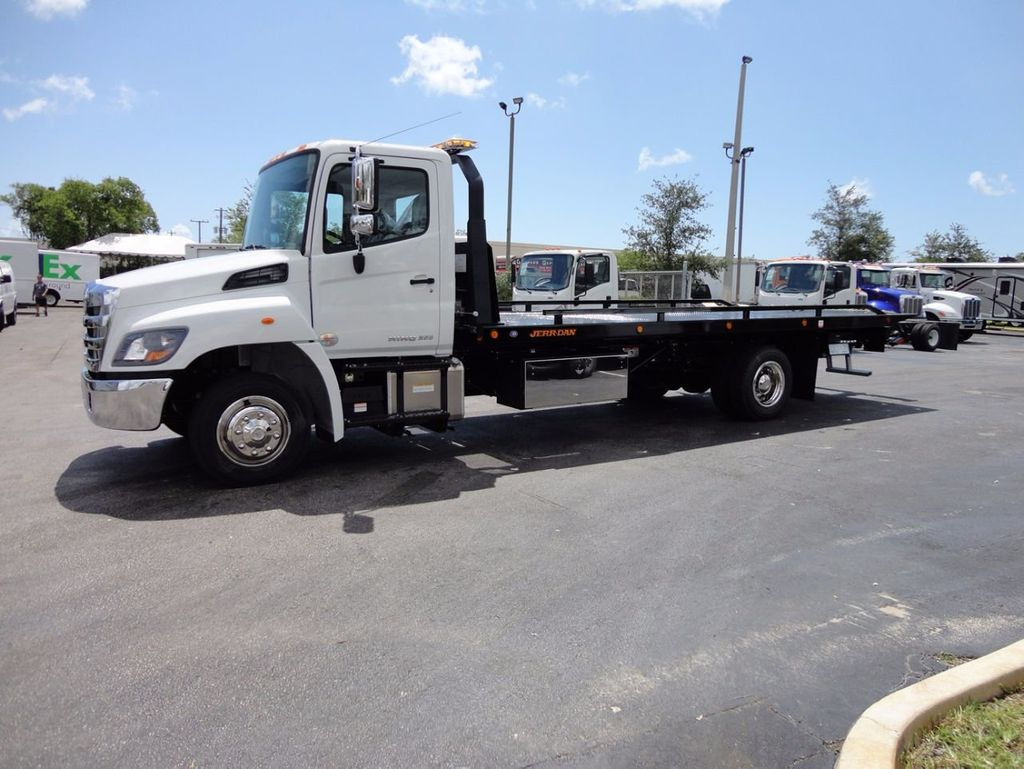 2018 HINO 258LP 21FT X 96 WIDE JERRDAN ROLLBACK..HYD BRAKE.SPRING RIDE - 16370364 - 1