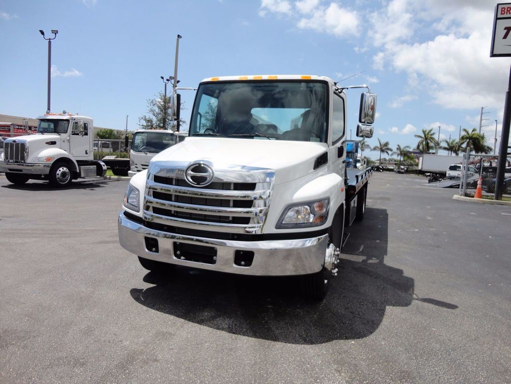 2018 HINO 258LP 21FT X 96 WIDE JERRDAN ROLLBACK..HYD BRAKE.SPRING RIDE - 16370364 - 2