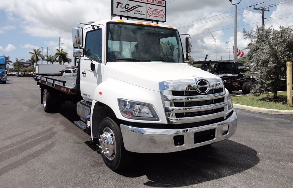 2018 HINO 258LP 21FT X 96 WIDE JERRDAN ROLLBACK..HYD BRAKE.SPRING RIDE - 16370364 - 4