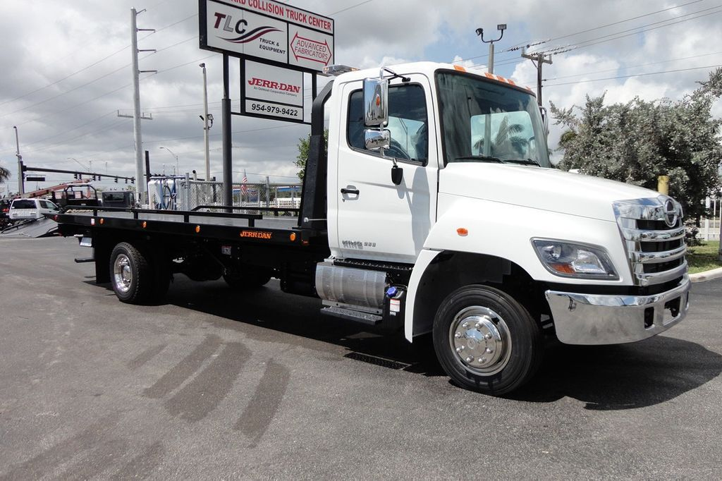 2018 HINO 258LP 21FT X 96 WIDE JERRDAN ROLLBACK..HYD BRAKE.SPRING RIDE - 16370364 - 5