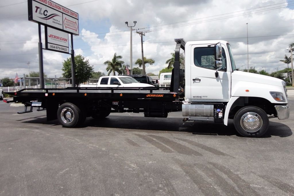 2018 HINO 258LP 21FT X 96 WIDE JERRDAN ROLLBACK..HYD BRAKE.SPRING RIDE - 16370364 - 6