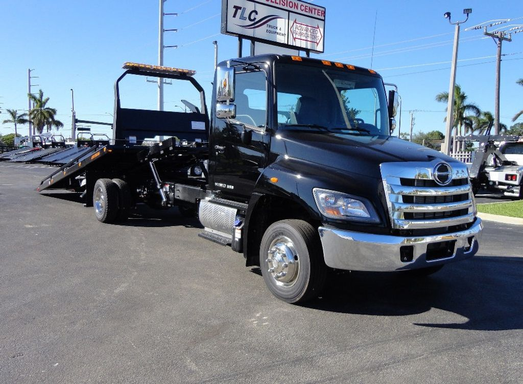 2018 HINO 258LP 21FT X 96 WIDE JERRDAN ROLLBACK..HYD BRAKE.SPRING RIDE - 16977457 - 10