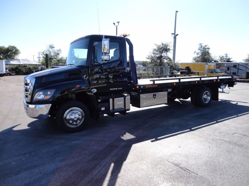 2018 HINO 258LP 21FT X 96 WIDE JERRDAN ROLLBACK..HYD BRAKE.SPRING RIDE - 16977457 - 28