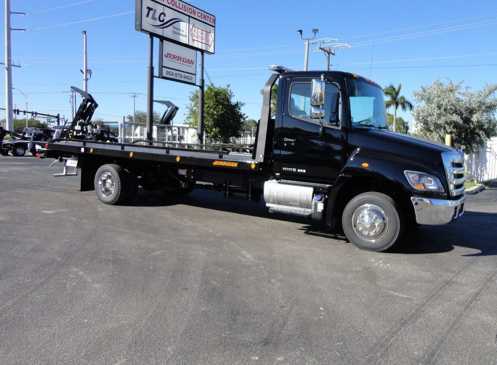 2018 HINO 258LP 21FT X 96 WIDE JERRDAN ROLLBACK..HYD BRAKE.SPRING RIDE - 16977457 - 34