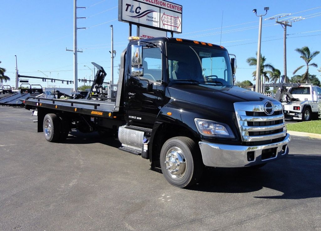 2018 HINO 258LP 21FT X 96 WIDE JERRDAN ROLLBACK..HYD BRAKE.SPRING RIDE - 16977457 - 35