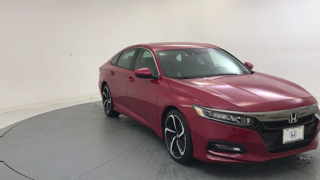 2018 Honda Accord Sedan Sport 1.5T CVT - 18201396 - 1
