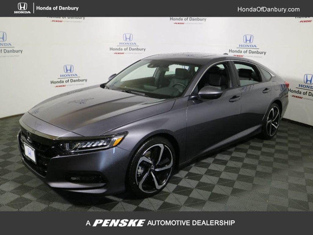 2018 new honda accord sedan sport 2 0t automatic at honda for New honda accord 2018