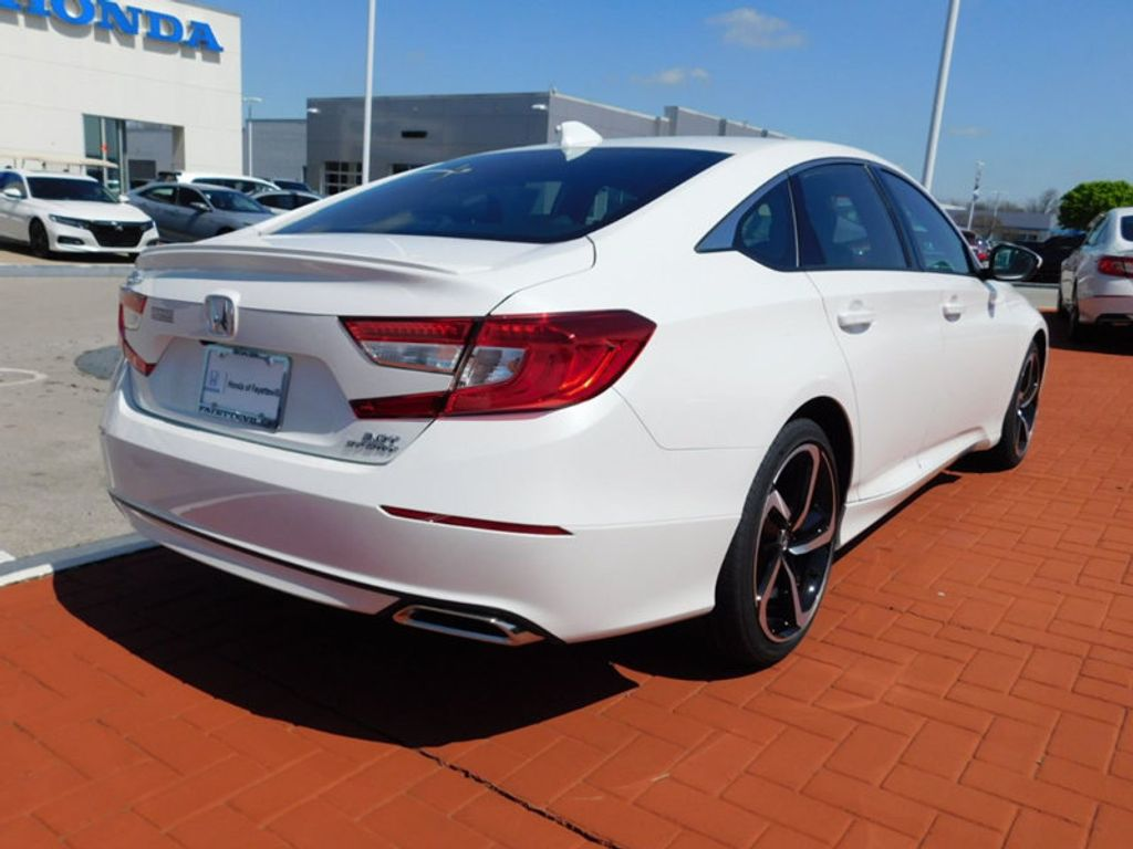 2018 Honda Accord Sedan Sport 2.0T Automatic - 17493925 - 2