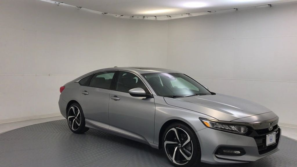 2018 New Honda Accord Sedan Sport 2 0t Automatic At Round Rock Honda