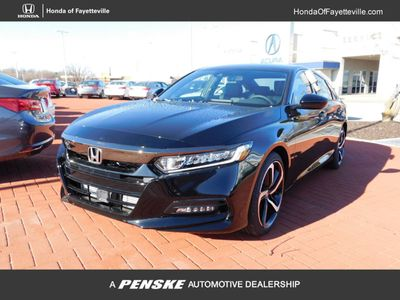 New 2018 Honda Accord Sedan Sport 2.0T Manual