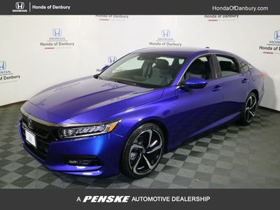 New 2018 Honda Accord Sedan Sport CVT