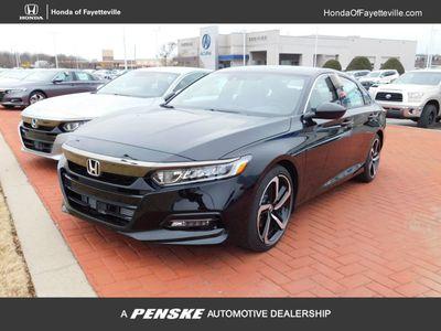 New 2018 Honda Accord Sedan Sport Manual