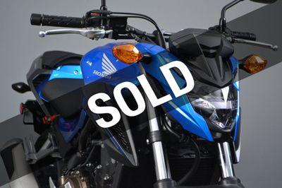 New 2018 Honda CB500F w/ ABS