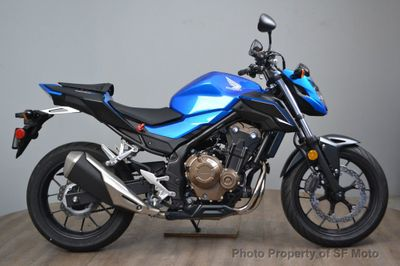 2018 Honda CB500F w/ ABS - Click to see full-size photo viewer