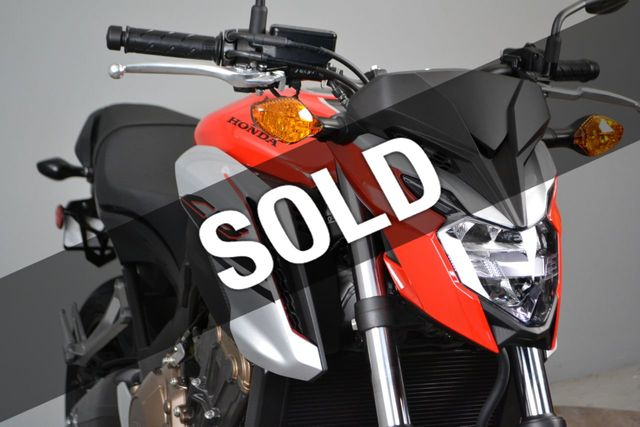 2018 Honda CB650F