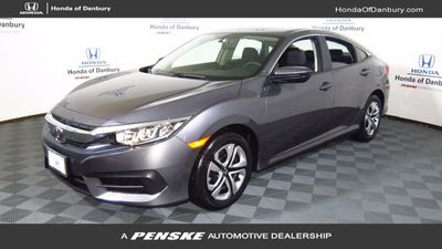 New 2018 Honda Civic SEDAN 4DR LX CVT