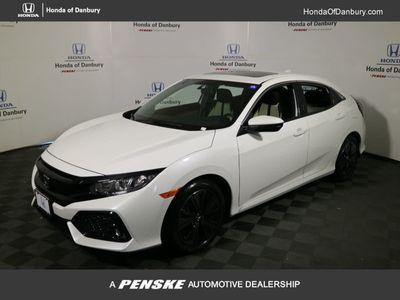 New 2018 Honda Civic Hatchback EX CVT Sedan