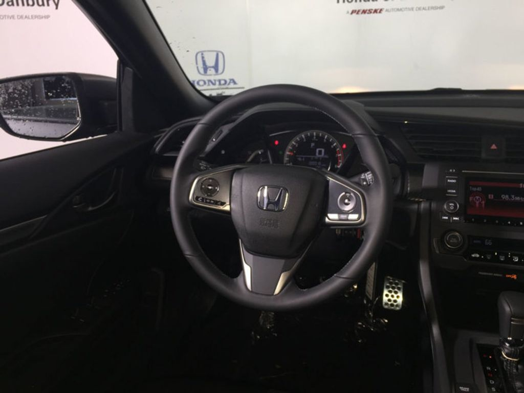 2018 New Honda Civic Hatchback Sport Cvt At Of Danbury Serving 98 Power Steering 18153216 14