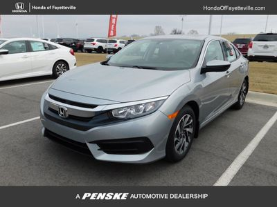 New 2018 Honda Civic Sedan EX CVT