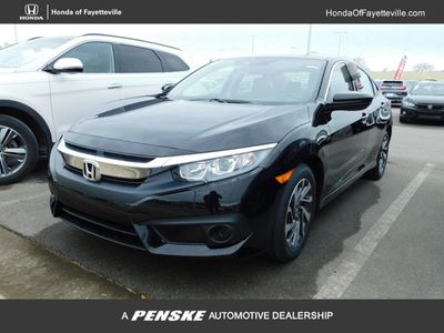 New 2018 Honda Civic Sedan EX CVT w/Honda Sensing