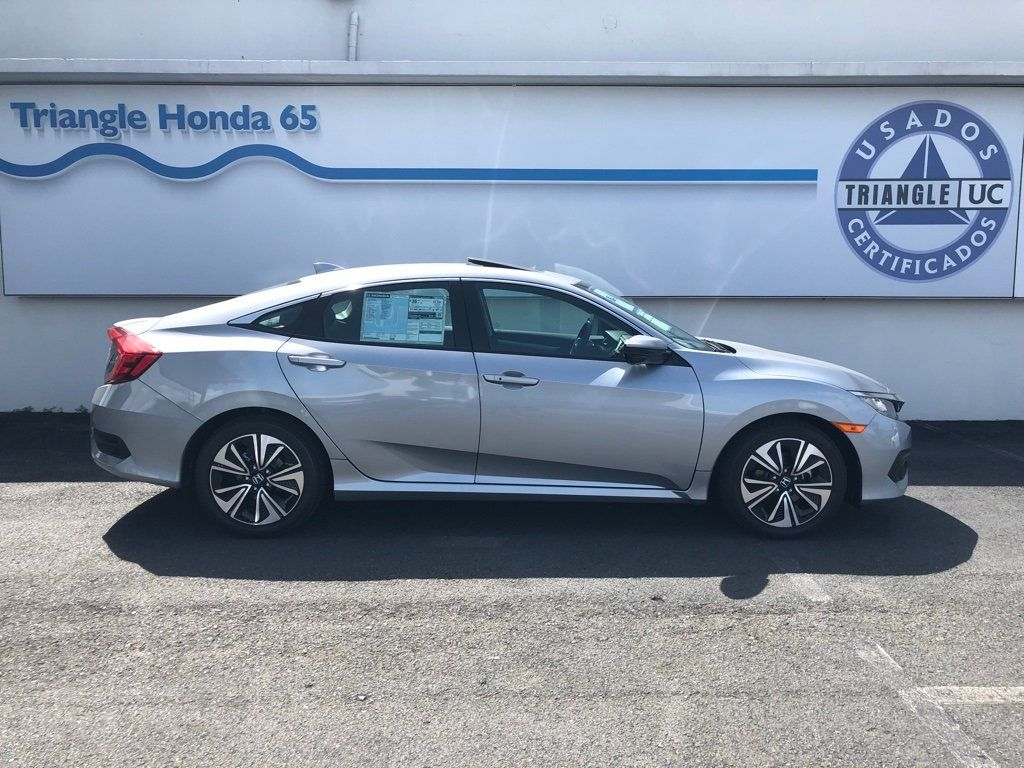 2018 Honda Civic Sedan EX-L CVT w/Navigation - 18150150 - 2