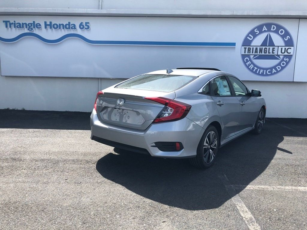 2018 Honda Civic Sedan EX-L CVT w/Navigation - 18150150 - 4