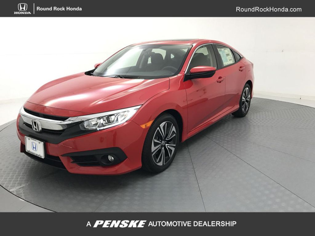 2018 Honda Civic Sedan EX-T CVT - 17903251 - 0