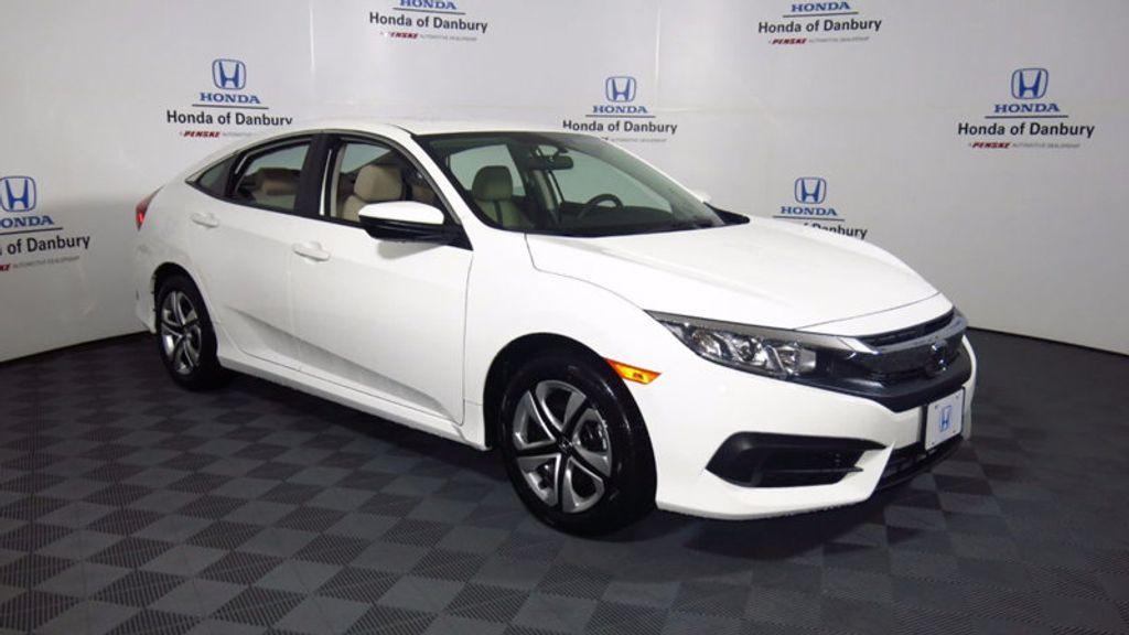 2018 New Honda Civic Sedan Lx Cvt At Penske Automotive Connecticut