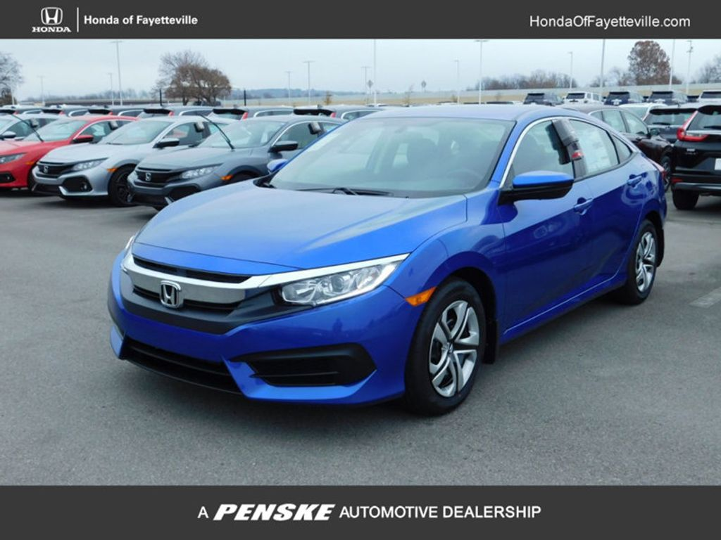 2018 Honda Civic Sedan LX CVT - 18322284 - 0