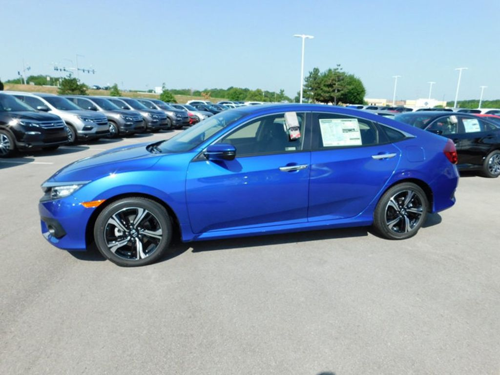 2018 Honda Civic Sedan Touring CVT - 17893696 - 1