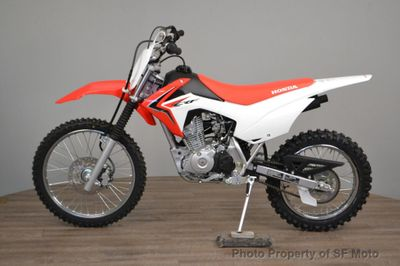 2018 Honda CRF125F NEW GREEN STICKER - Click to see full-size photo viewer