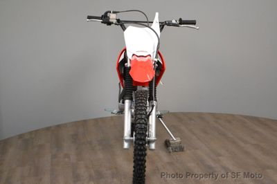 2018 Honda CRF125F Big Wheel NEW GREEN STICKER - Click to see full-size photo viewer