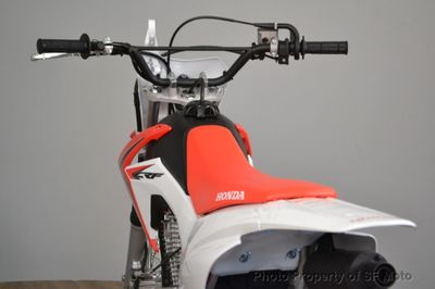 2018 Honda CRF125F Small Wheel Green Sticker! - Click to see full-size photo viewer