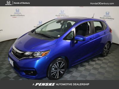 New 2018 Honda Fit EX Manual Sedan
