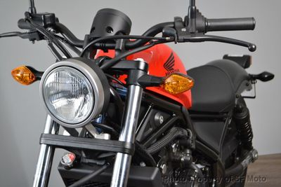 2018 Honda Rebel 500 - Click to see full-size photo viewer