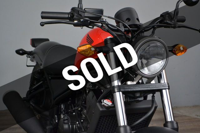 2018 Honda Rebel 300 CMX300 2 at this price!!!