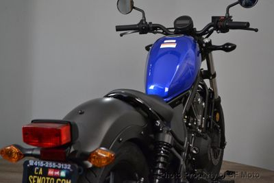 2018 Honda Rebel 500 CMX500 SAVE FOR NEXT ONE - Click to see full-size photo viewer