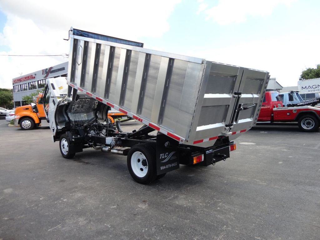 2018 Isuzu NPR HD 14FT ALUMINUM LANDSCAPE DUMP TRUCK ADVANCED FABRICATORS - 18156713 - 11
