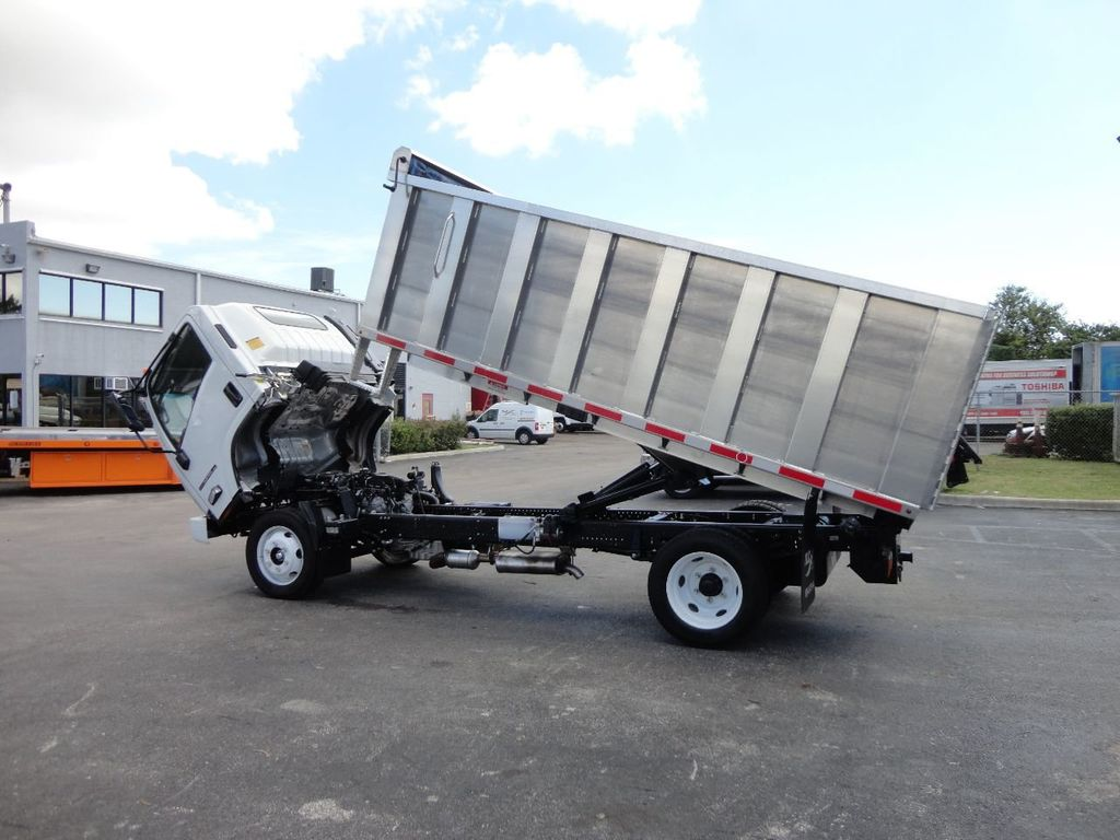 2018 Isuzu NPR HD 14FT ALUMINUM LANDSCAPE DUMP TRUCK ADVANCED FABRICATORS - 18156713 - 12