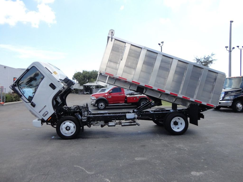 2018 Isuzu NPR HD 14FT ALUMINUM LANDSCAPE DUMP TRUCK ADVANCED FABRICATORS - 18156713 - 13
