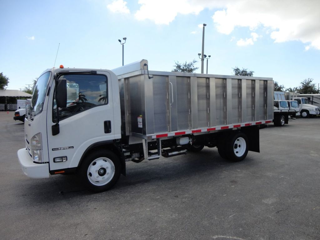 2018 Isuzu NPR HD 14FT ALUMINUM LANDSCAPE DUMP TRUCK ADVANCED FABRICATORS - 18156713 - 27